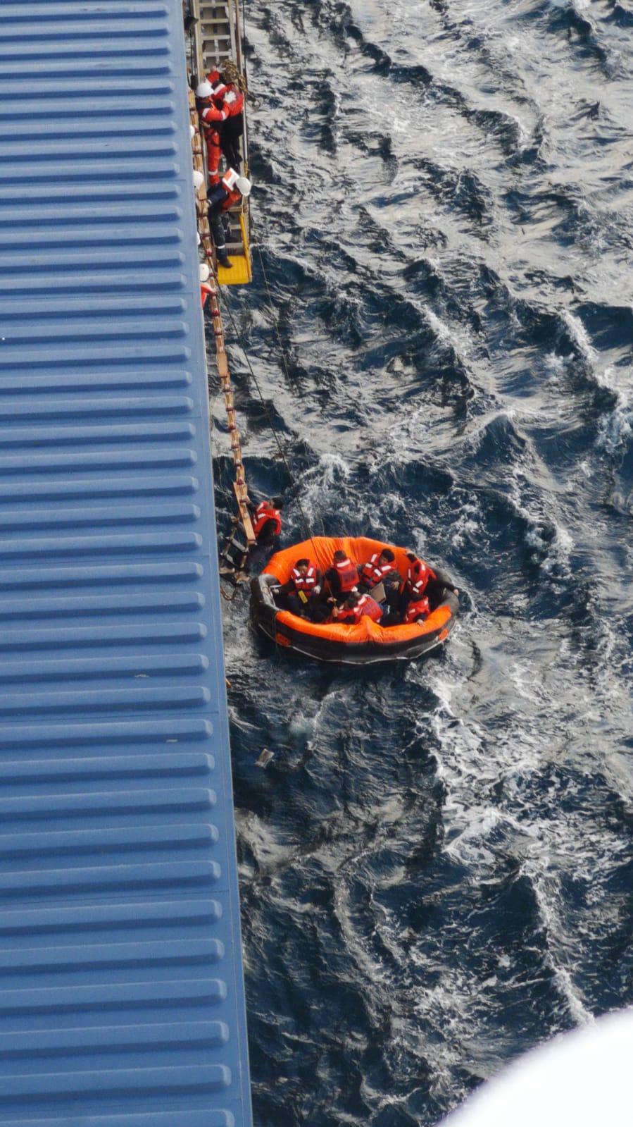 A treia navă condusa de un comandant român a salvat vieți pe mare