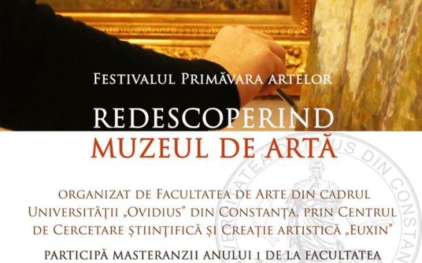 """Facultatea de Arte organizează primele acțiuni din cadrul celei de-a XIII-a ediții a Festivalului """"Primăvara artelor"""""""