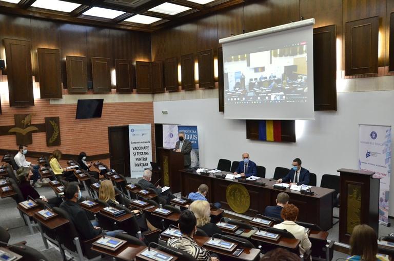 Campania Națională de Informare VACCINARE ȘI TESTARE PENTRU ÎNVĂȚARE! la Constanța