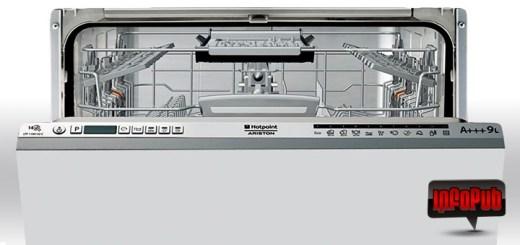 Masina de spalat vase incorporabila Hotpoint LTF 11M132 C