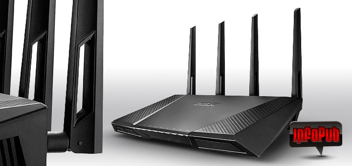 Asus RT-AC87U cel mai rapid router wireless