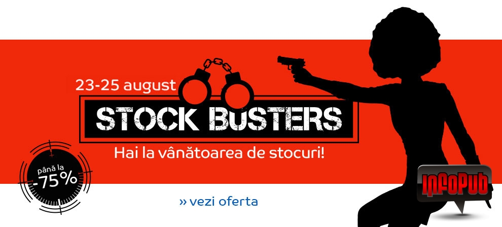 Campania Stock Busters la eMag