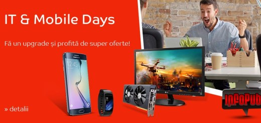 Campanie IT Mobile Days eMag