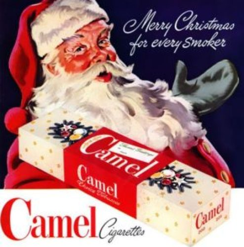 pubblcità anni 50 sigarette
