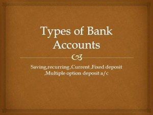 types of bank acs