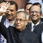 Pranab Mukherjee Declared Elected as the  14th President of India