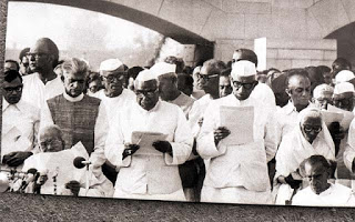 Janata Alliance Ministers 1977