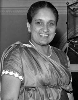 Srimavo Bandaranaike PM of Srilanka