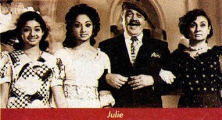 Sridevi in Hindi Move Julie with Lakshmi
