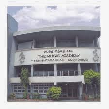 Music Acadamy Chennai