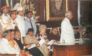 K R Narayanan in Rajya Sabha