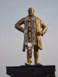 Sivaji Ganesan Statue in Chennai