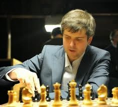 Peter Svidler of Russia