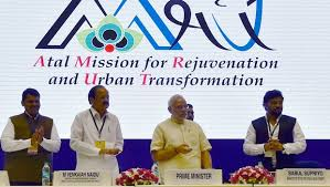 AMRUT-Atal Mission for Rejuvenation and Urban Transformation