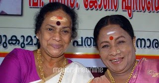 Manorama with Sukumari