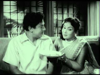 M.N.Rajam with SSR