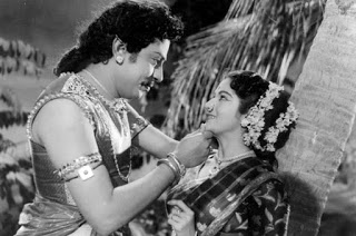 SSR and Kumari Kamala in Sivagangai Seemai Movie