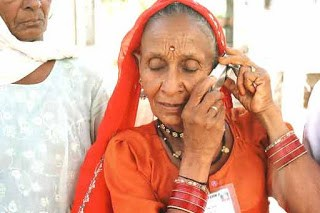 Senior Citizens with Mobile Phones