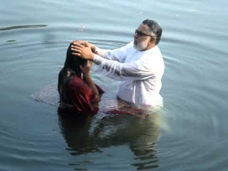 Baptism by Immersion in Water
