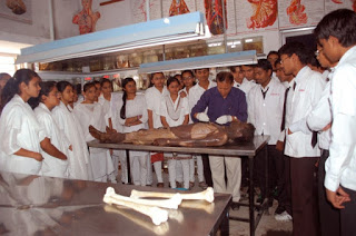 Corpse in Medical Dissection and Study in India