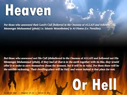Heaven Or Hell in Muslims