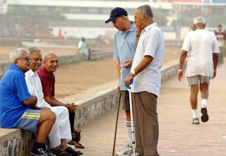 Senior Citizens in Groups