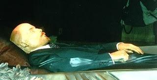 Corpse of Vladimir Lenin Preserved by Stuffing