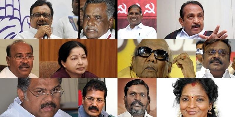 List of Political Parties-Alliances-CM Candidates- 2016