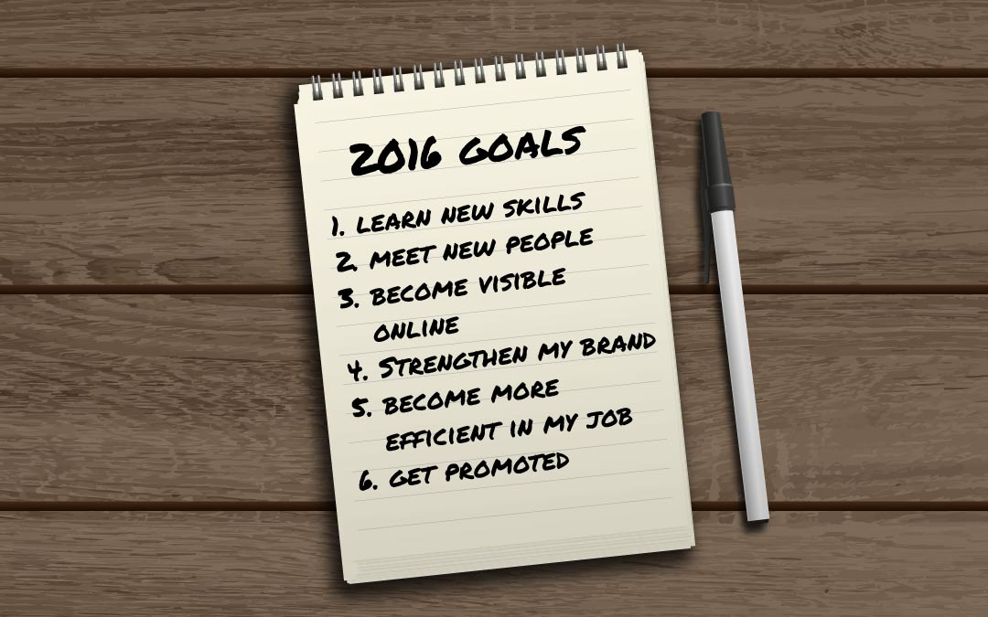How to Prepare Your 2016 Career Goals
