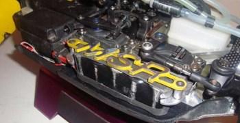 Bandeja de servos MSR para MBX6