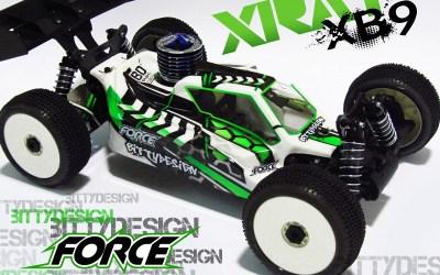 Xray XB9 Force de Bittydesign