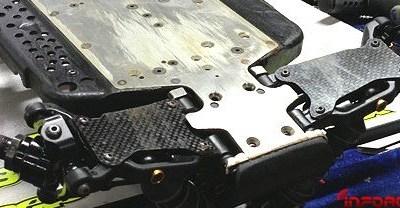 Rigidificadoras de carbono en los trapecios del XRay XB9 de Savoya