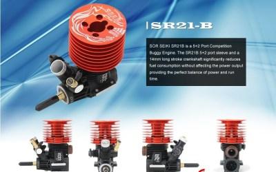 Soar Seiki SR21B, el motor para TT de nuestro nuevo patrocinador