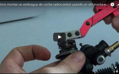 Cómo montar un embrague de coche radiocontrol usando un útil especial, vídeo