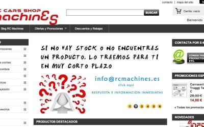 RC Machines, nuevo sponsor de infoRC.net