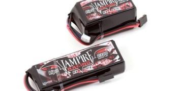Nuevas baterías para receptor de Vampire Racing