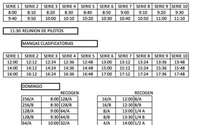 Horarios de la Merlin Race
