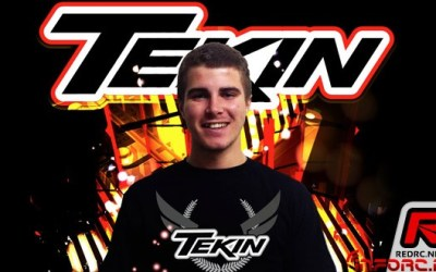 Kyle McBride ficha por Team Tekin para sus andaduras en 1/10TT y 1/8TT eléctrico