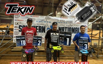 Tekin domina los Southern Nationals (USA)