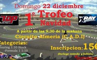 Trofeo de Navidad Touring 1/10 y Formula 1 en C.A.D.I., Almería