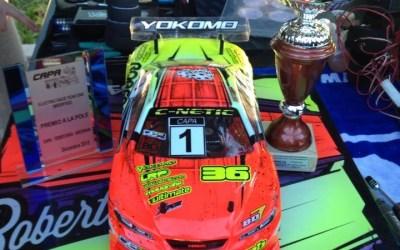 Robert Batlle se estrena en pista con una victoria en la Roscón Race