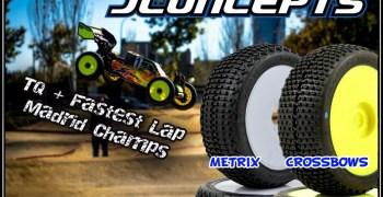 Alberto Garcia consigue la pole y la vuelta rápida en su debut con las ruedas JConcepts