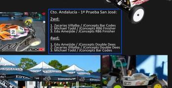 JConcepts domina el Campeonato de Andalucía 1/10 en San José de la Rinconada