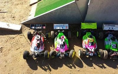 Primera prueba del Campeonato de Extremadura 1/8 TT Gas