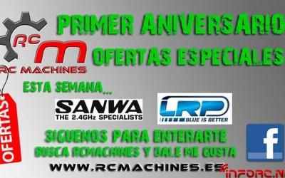 RC Machines y sus nuevas ofertas aniversario