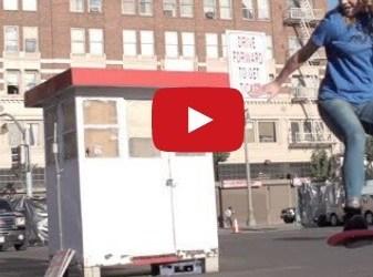 """Video de los Viernes: Al fin han inventado los skates voladores a lo """"Regreso al futuro"""""""