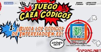 Caza de códigos QR con Interesadoen.es