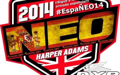 Sigue al equipo español en la Neo14 con el hashtag #EspaÑeo14