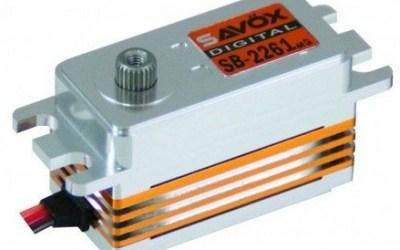 Servo Savox SB-2261SG, ya disponible en España