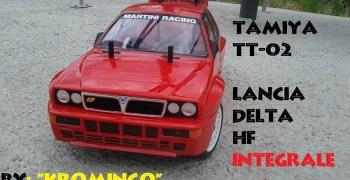 Montaje de un Tamiya TT-02 Lancia Delta Integrale, por Antonio Cano